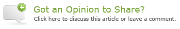 Got an opinion to share? Click here to join the discussion