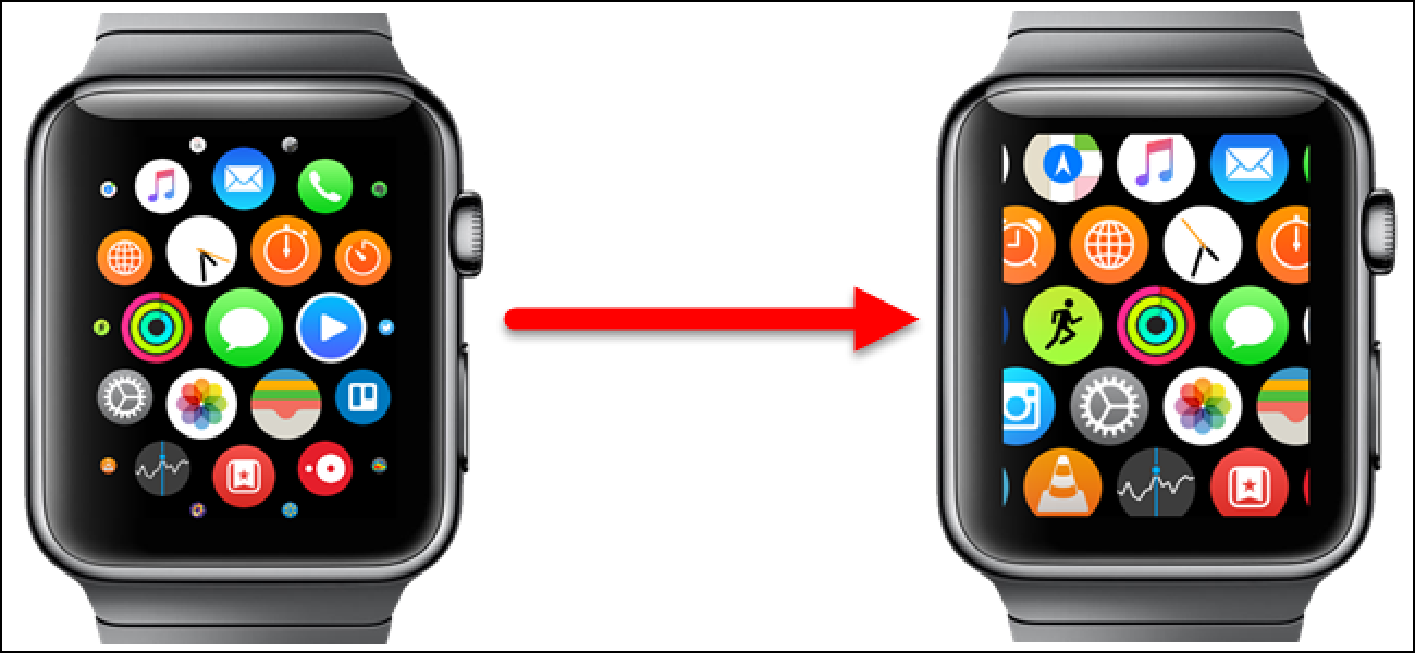 How to Make the App Icons on the Apple Watch Home Screen All the Same Size