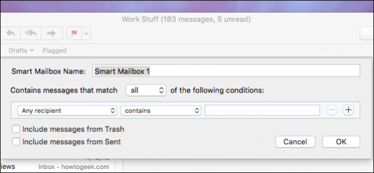 How to Organize Your Email with Smart Mailboxes in Apple Mail
