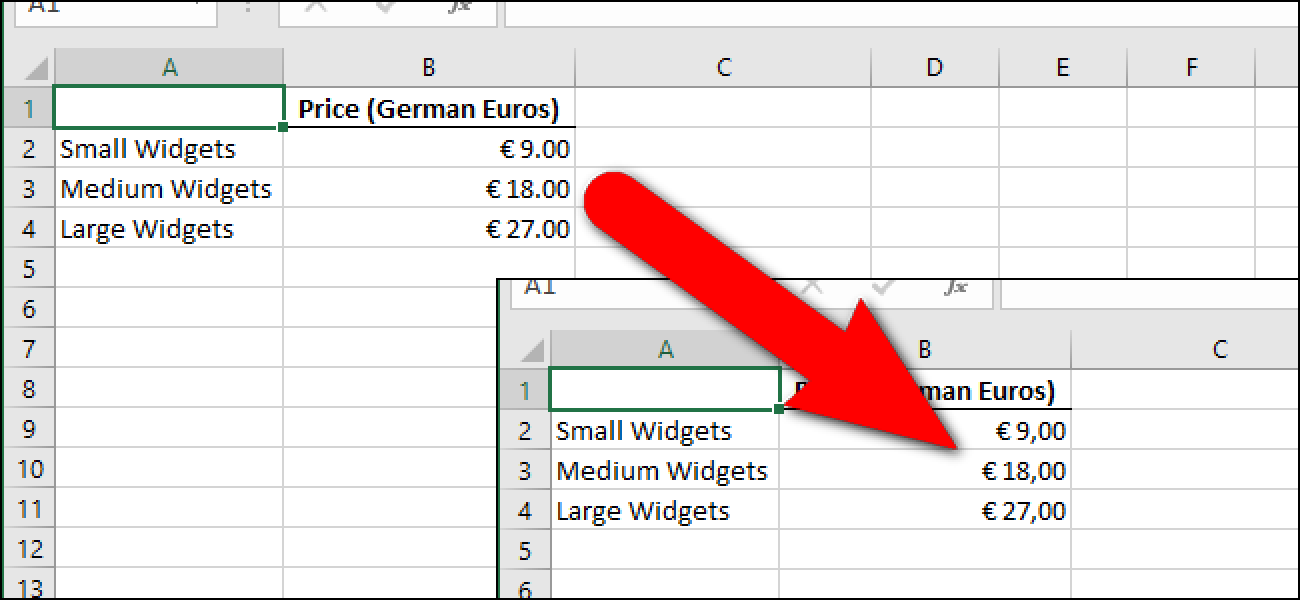 How To Change Excels Decimal Separators From Periods To Commas