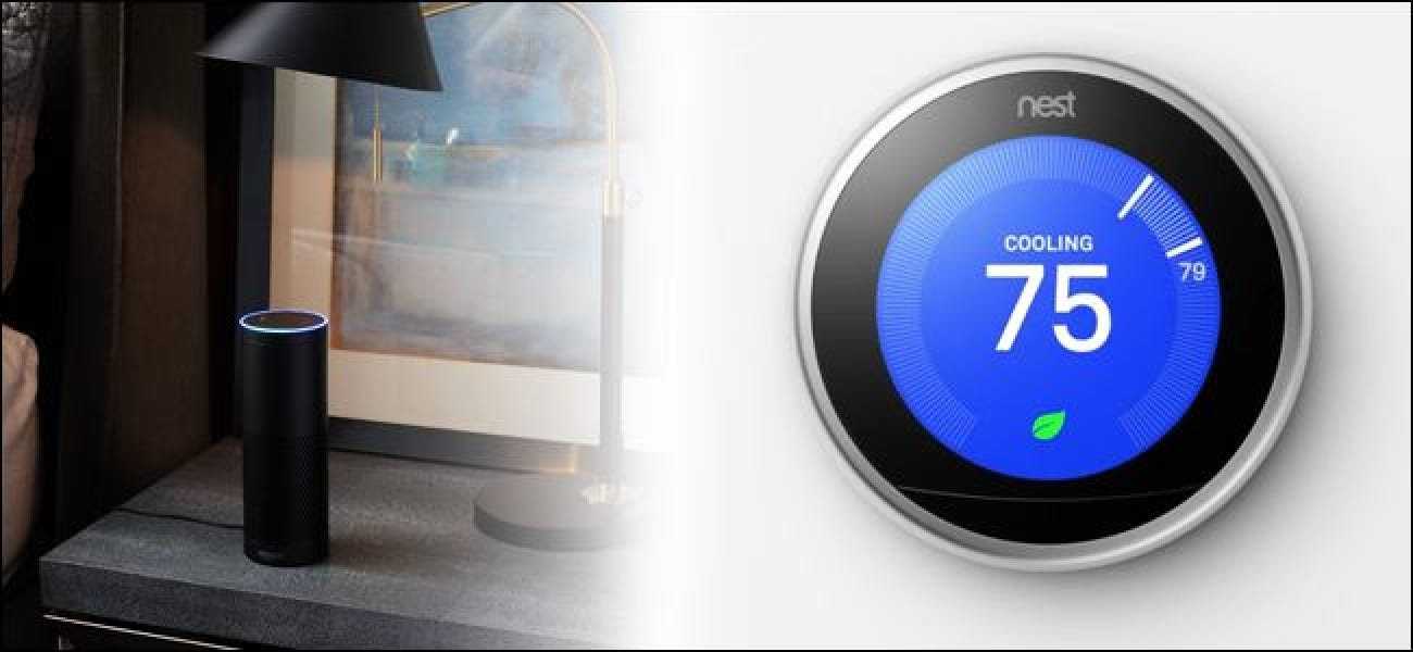 How to Control Your Nest Learning Thermostat with Alexa
