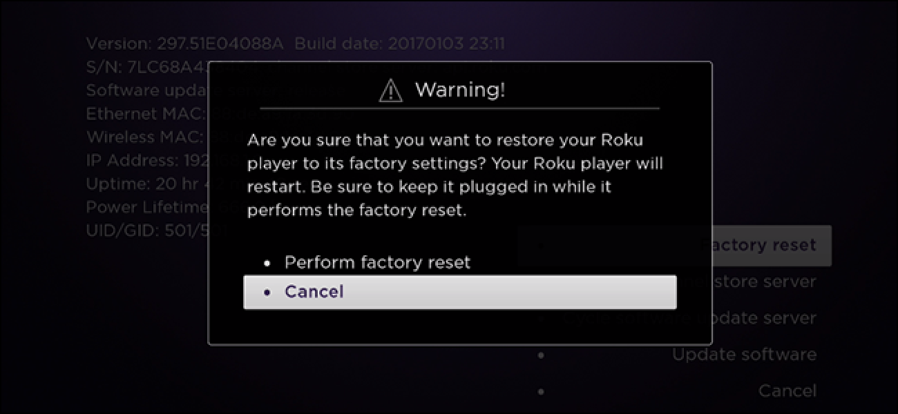 Resetting Fuse Box After Power Cut : How to factory reset your roku