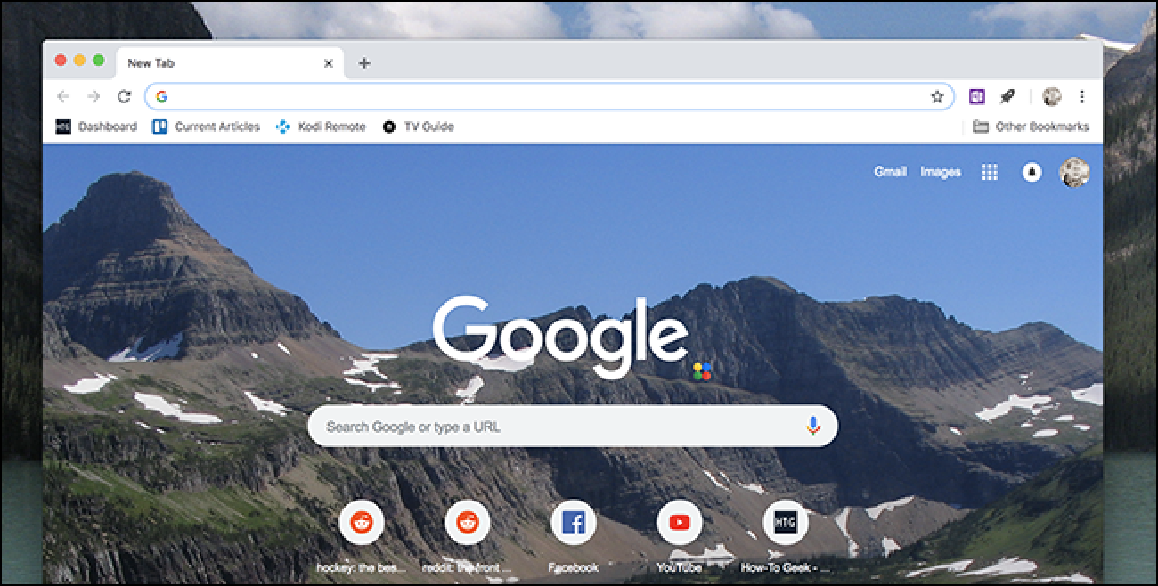 Customize Chrome's New Tab Page, No Extensions Required