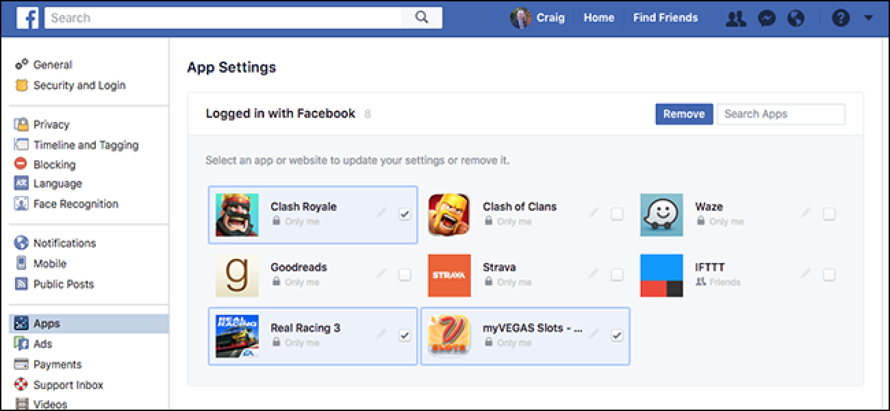 Quickly Clean Out Your Facebook App Permissions Right Now