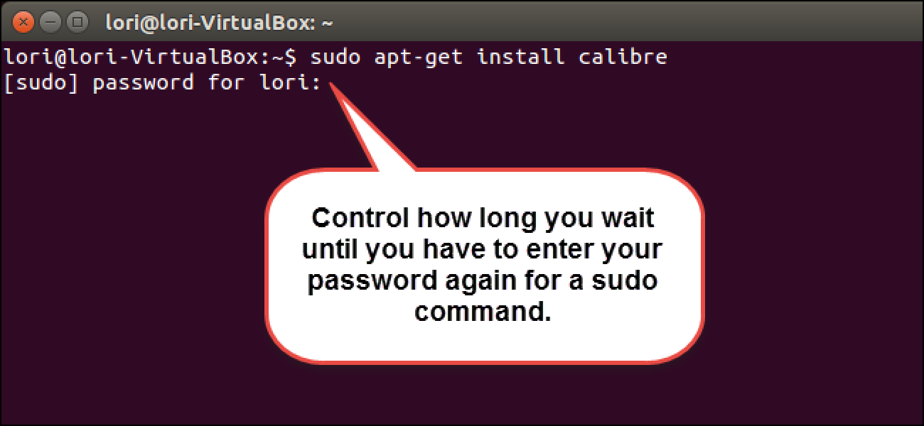 How to Change How Long sudo Waits Before it Prompts You Again