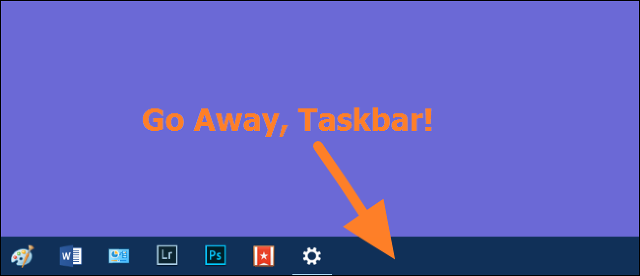 How to Fix the Windows Taskbar When It Refuses to Auto-Hide Correctly