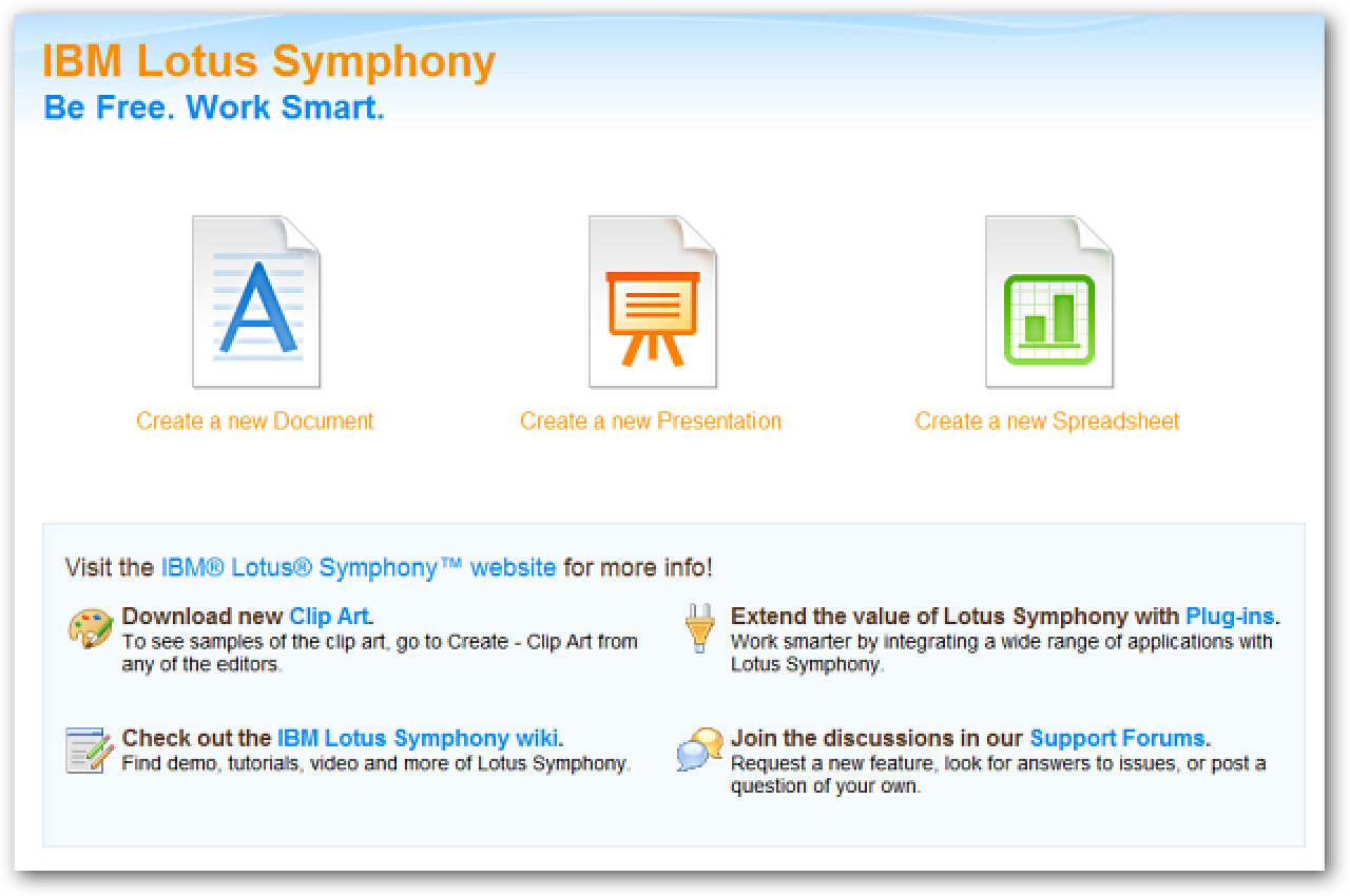 ibm lotus symphony is a free alternative to ms office