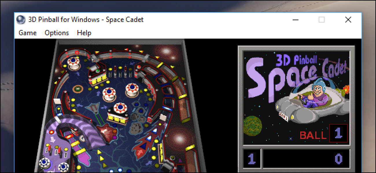 windows pinball