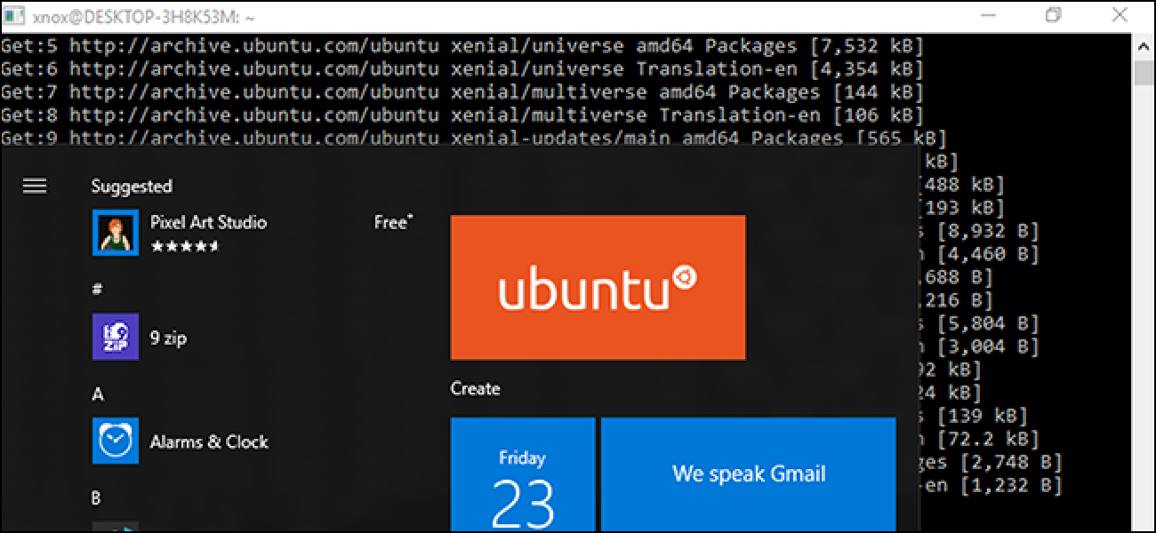 ubuntu 18 04 lts is now in the microsoft store