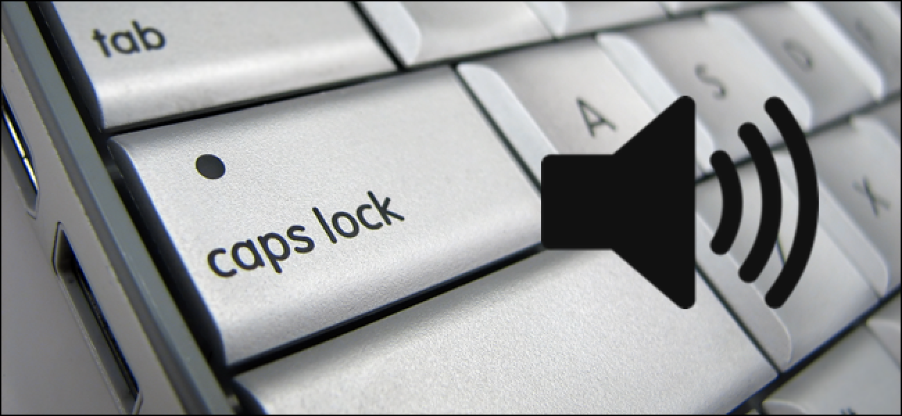 How to Make Windows Play a Sound When You Press Caps Lock