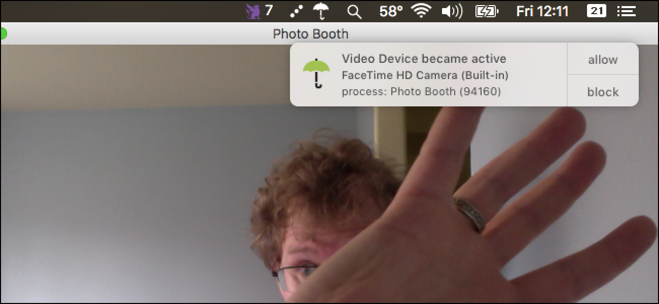 How to Get a Notification Whenever an App Starts Using Your Mac's Webcam