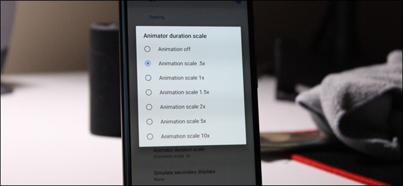 How to Speed Up Animations to Make Android Feel Faster