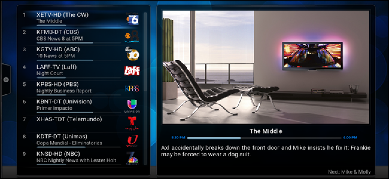 How To Watch And Record Live Tv With Kodi And Nextpvr