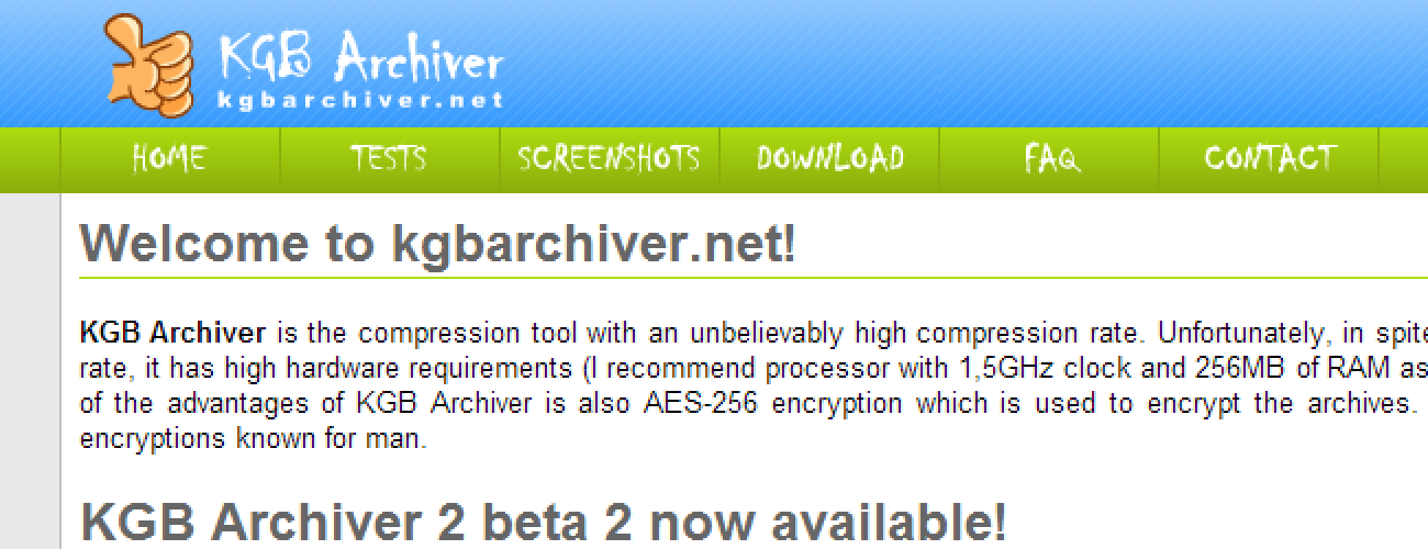 Could KGB Archiver Be the Best Compression Tool Available? Or Just
