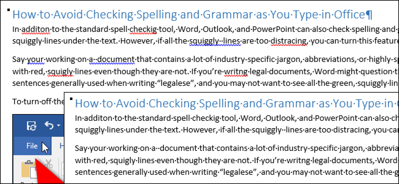 Grammar and spell check pdf files