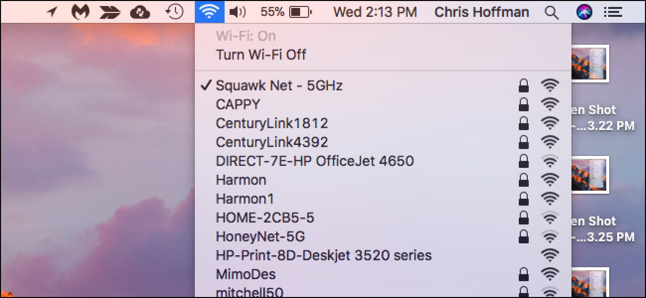How to Stop Your Mac From Automatically Connecting to a Wi-Fi Network