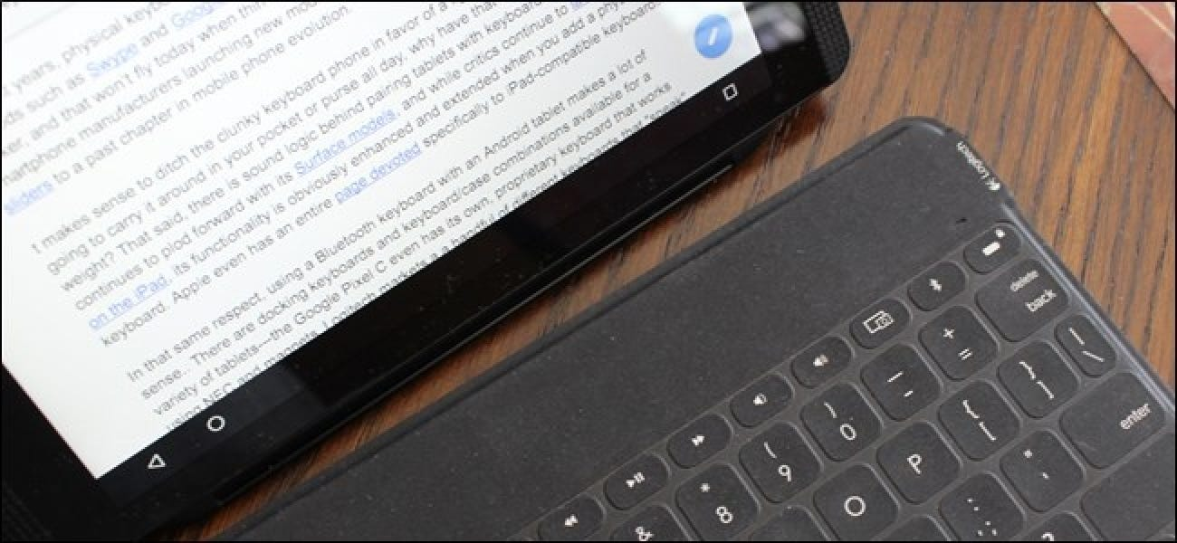 How to Use a Bluetooth Keyboard with Your Android Device