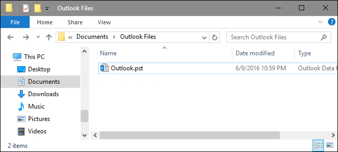 Where Are My Outlook PST Data Files, and How Can I Move Them