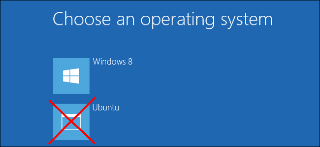 How to Uninstall a Linux Dual-Boot System From Your Computer