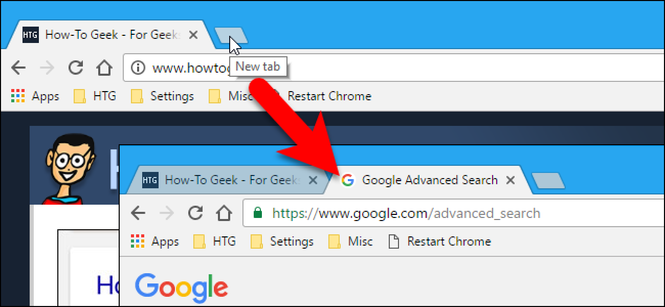 How to Open a New Tab to a Specific Webpage in Your Browser