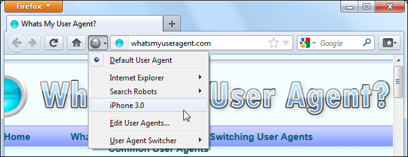 What Is a Browser's User Agent?