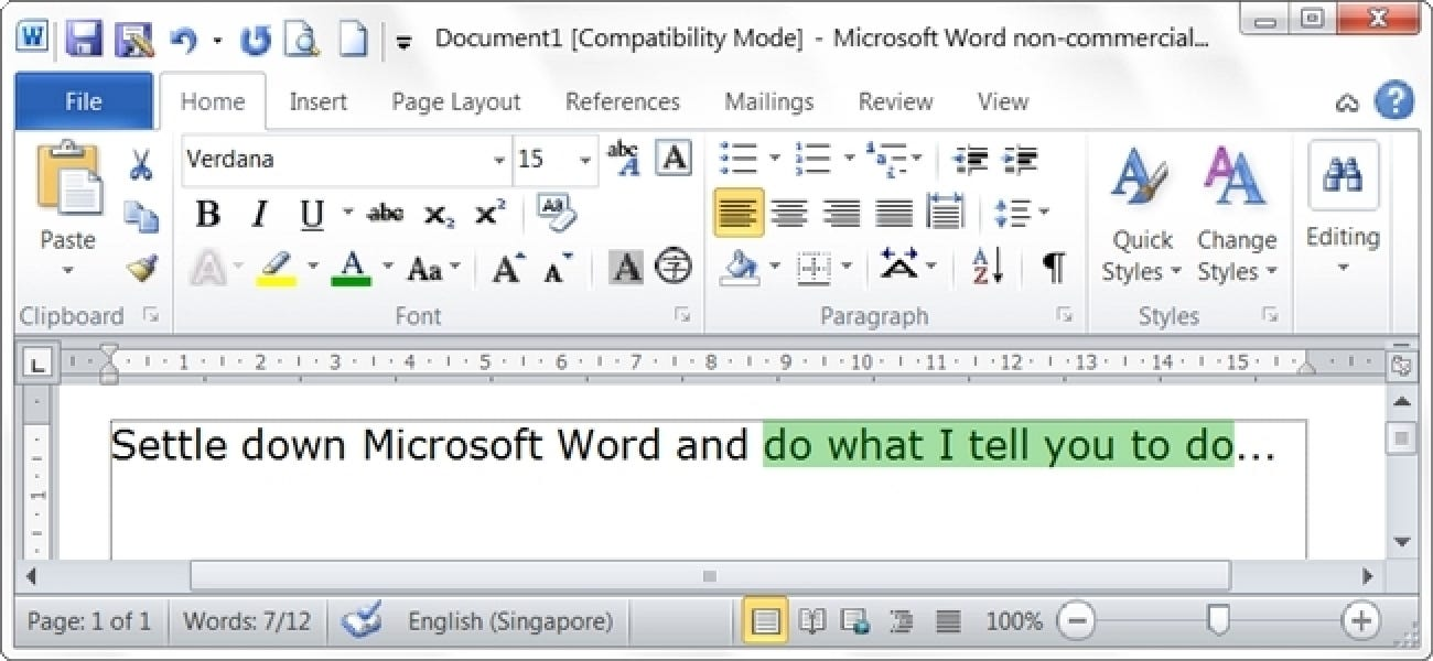 How Do You Stop Microsoft Word from Automatically Selecting More