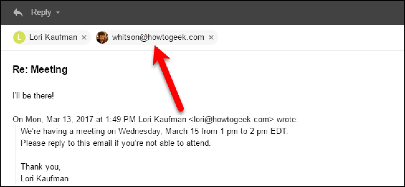 How To Change The Reply To Address For Email Messages In