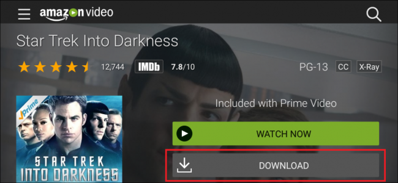 How to Download Amazon Prime Movies and TV Shows for Offline