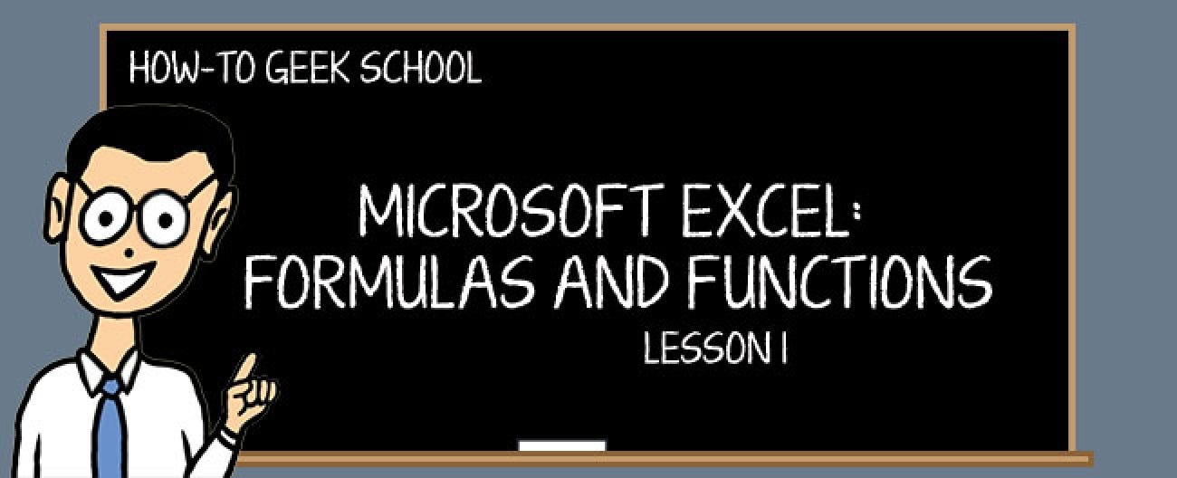 Excel Formulas: Why Do You Need Formulas and Functions?