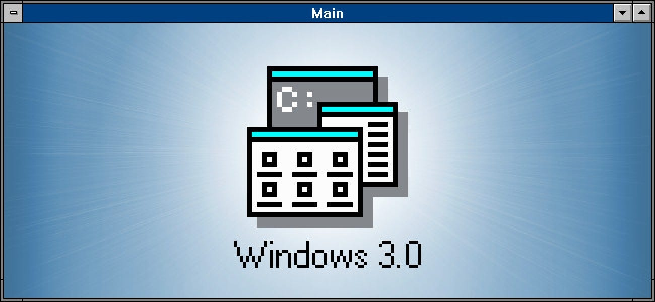 Windows 3.0 Is 30 Years Old: Here�s What Made It Special - How-To Geek