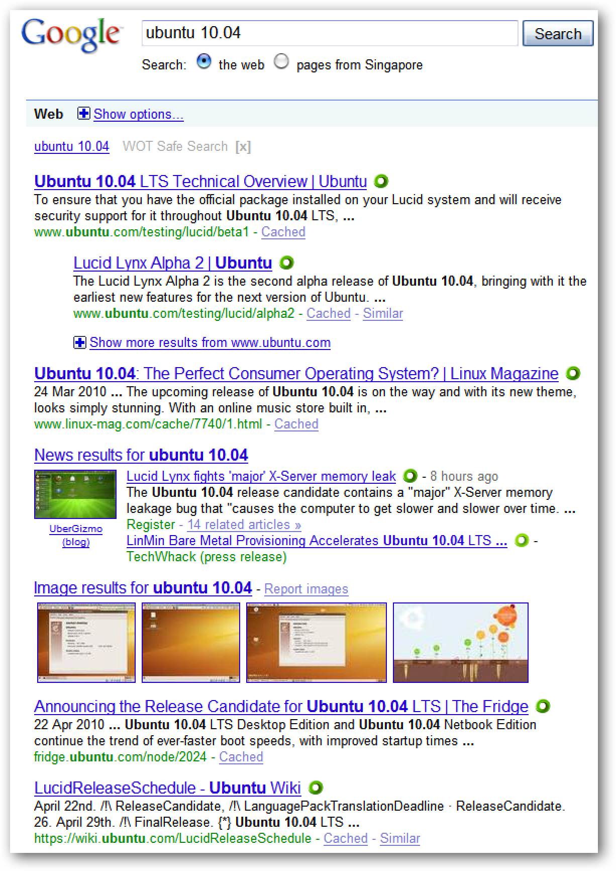 Change The Way Google Search Results Display In Firefox