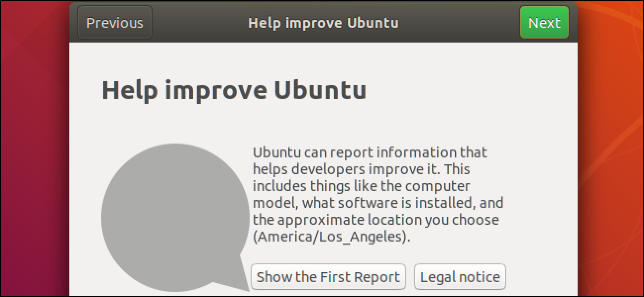 How to Stop Ubuntu From Collecting Data About Your PC