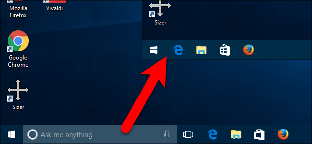 How to Hide the Search/Cortana Box and Task View Button on ...