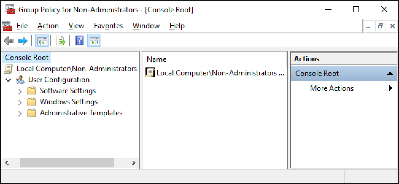 How to Apply Local Group Policy Tweaks to Specific Users