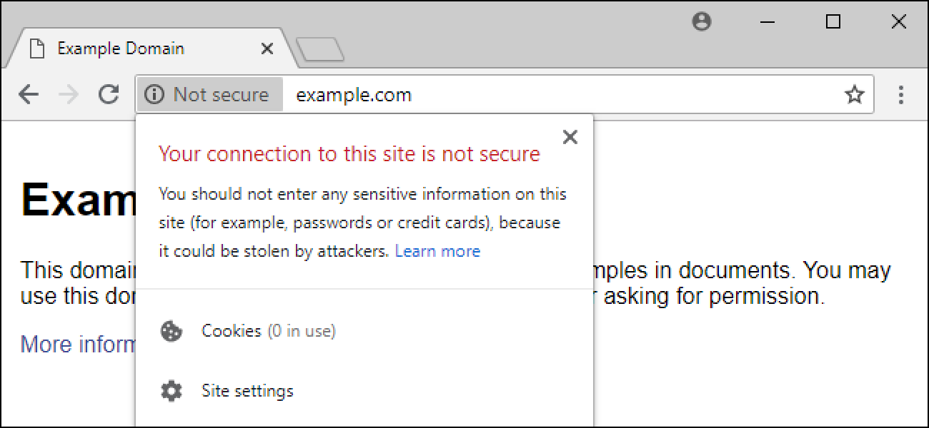 Why Does Google Chrome Say Websites Are Not Secure