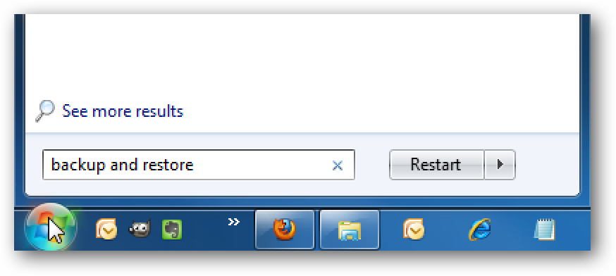 How To Manage Hard Drive Space Used by Windows 7 Backup and