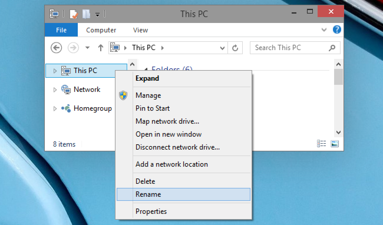 """How to Rename """"This PC"""" Back to """"My Computer"""" in Windows"""