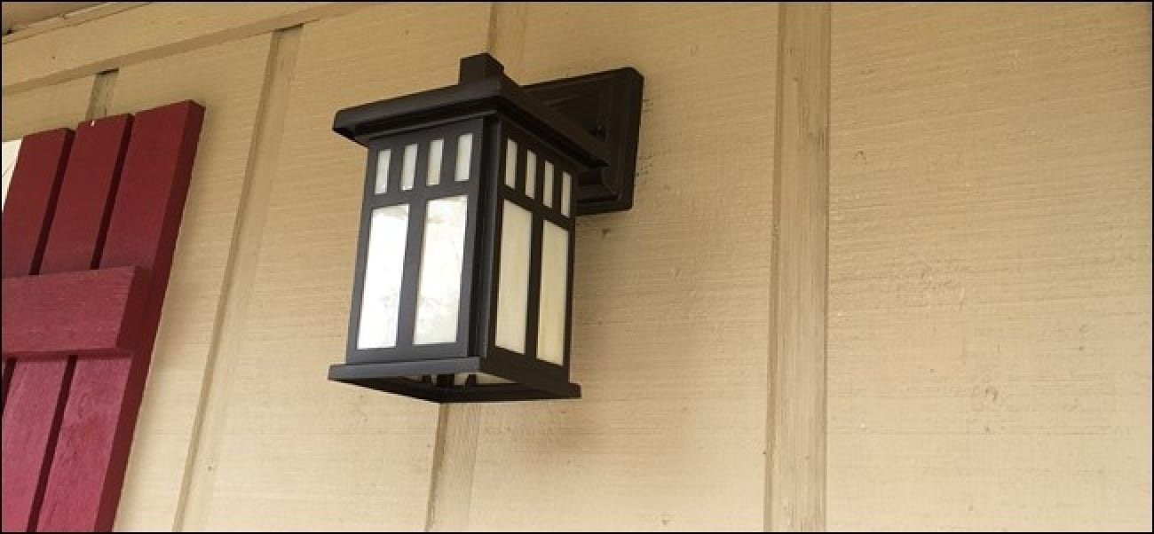 How to Automatically Turn on a Porch Light When Motion Is Detected