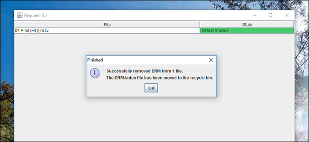 drm removal freeware