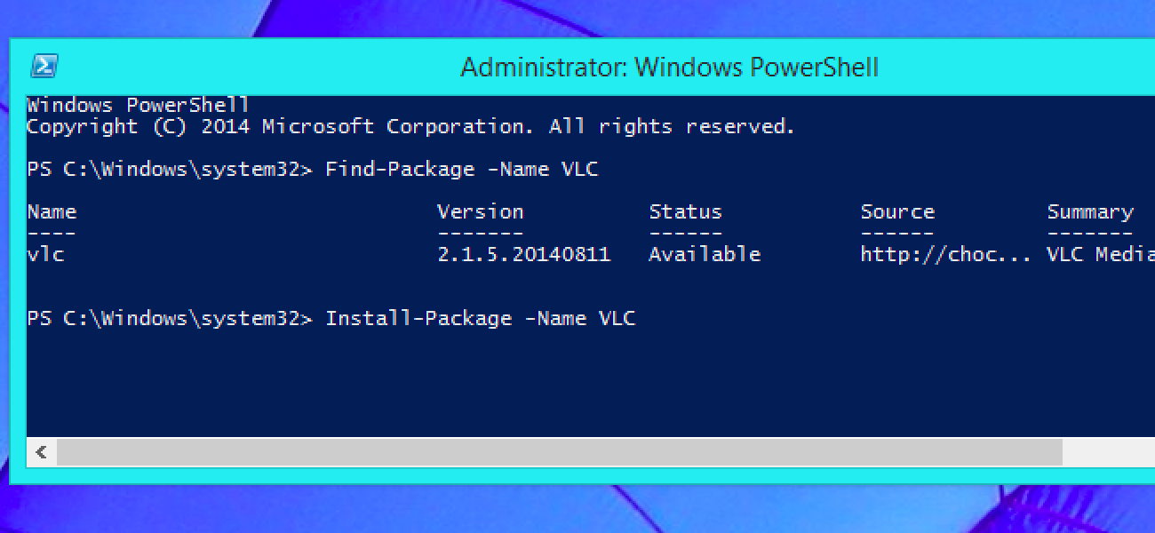 If you see a 'Windows Installer package' error message ...