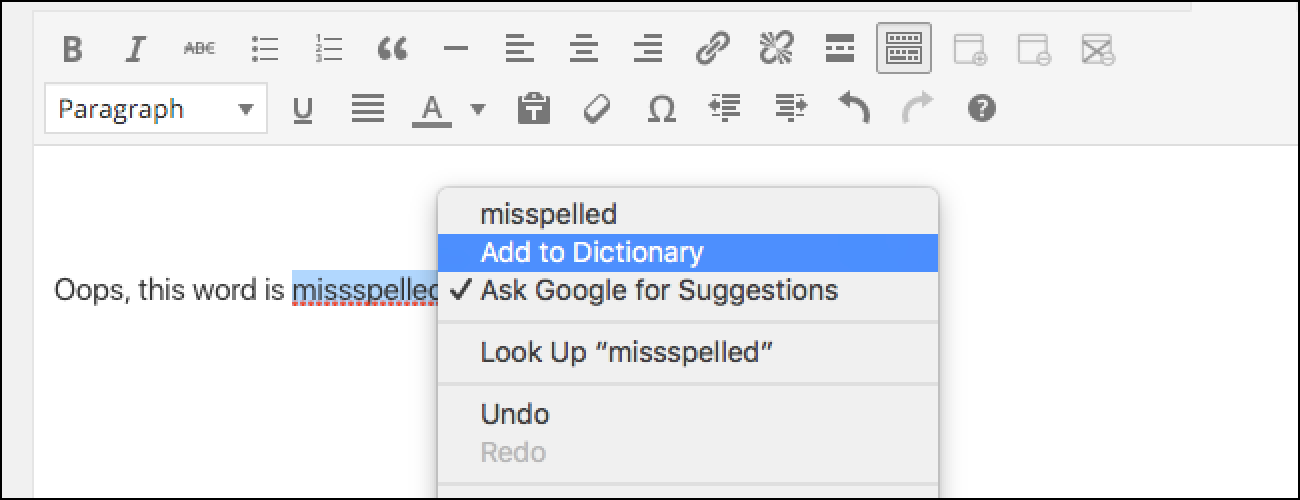 How to Remove a Word You Added to the Dictionary on Mac OS X