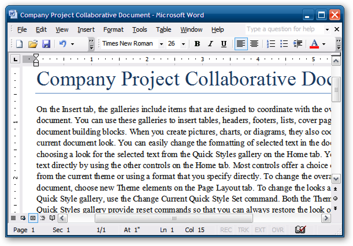 how to change line spacing in word 2007