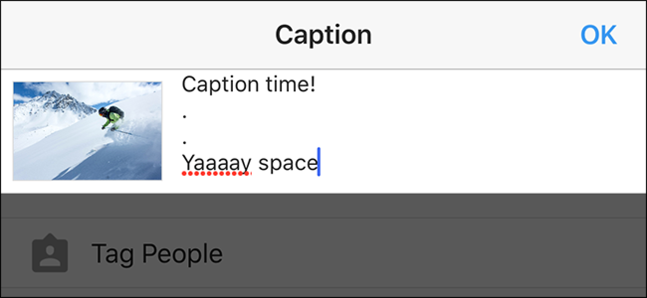 How to Add Paragraphs to Your Instagram Captions on iOS