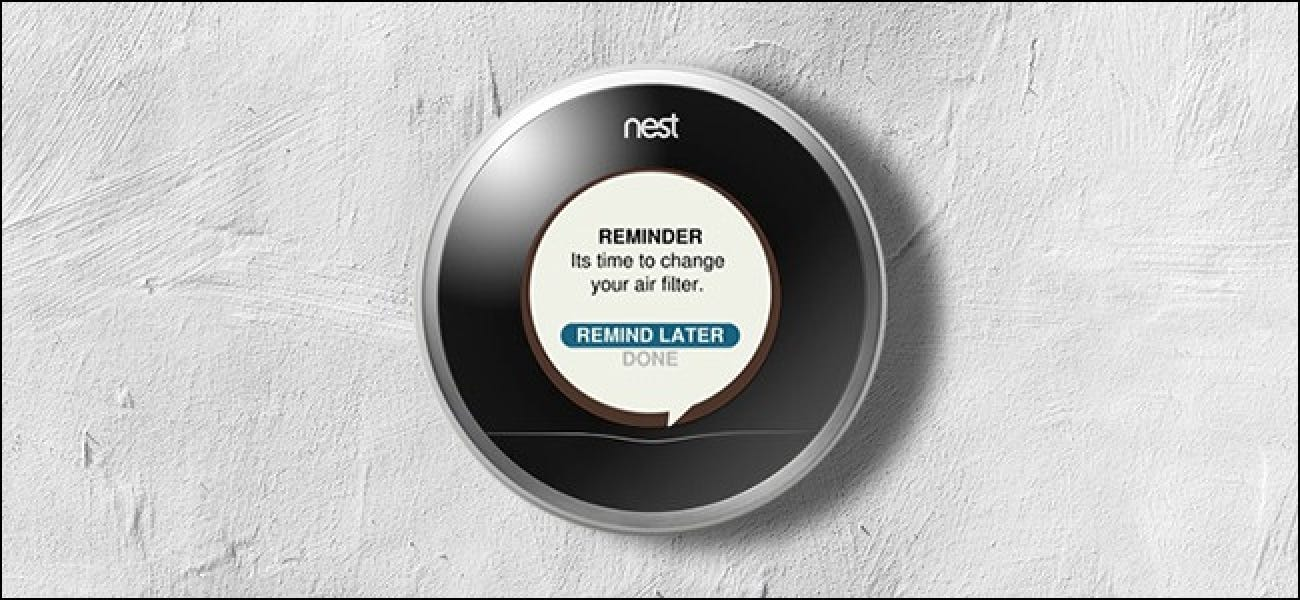 How To Set Air Filter Reminders With Your Nest Thermostat