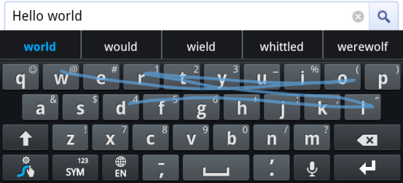 How To Type Faster With The Swype Keyboard For Android