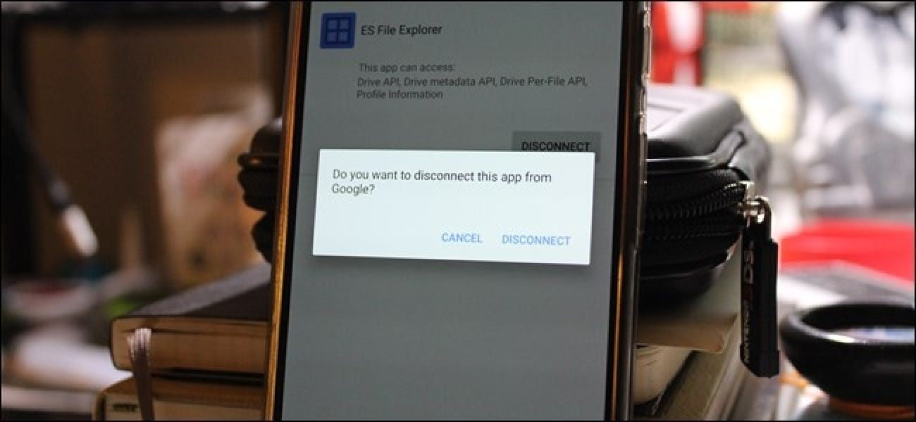 how to delete android device from google account