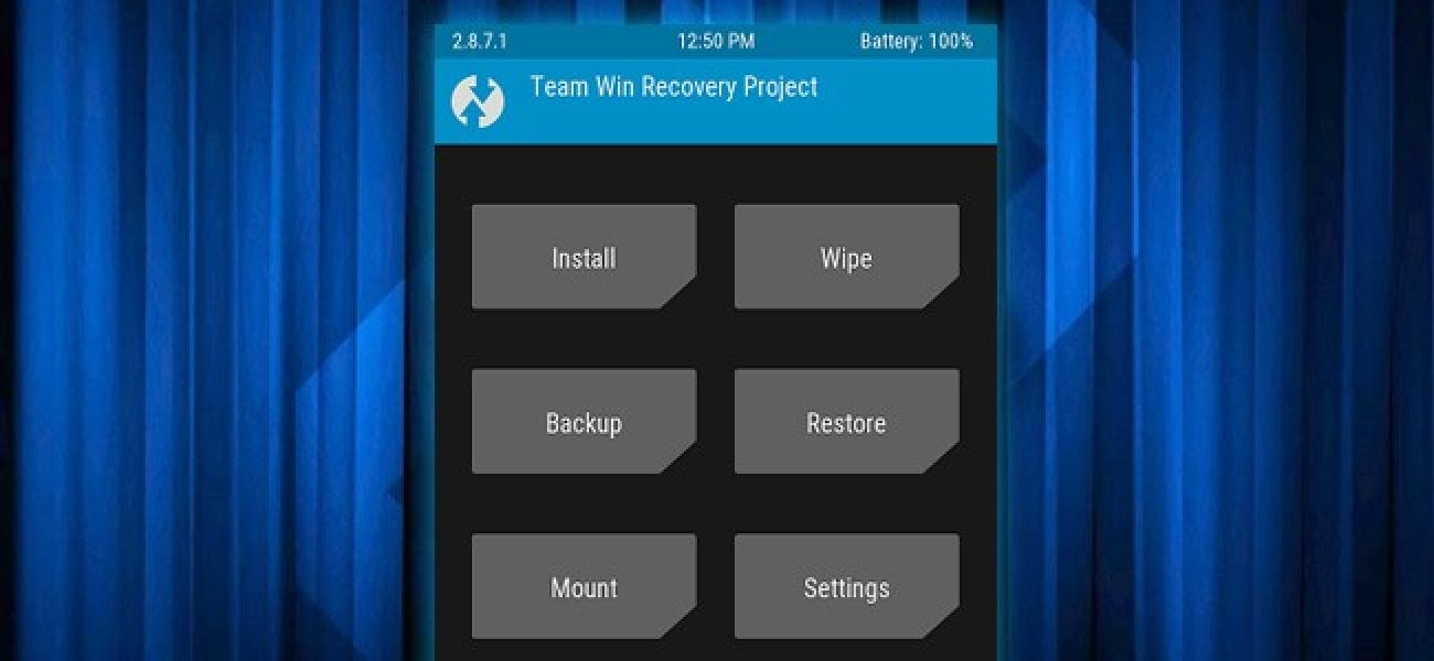 How to Flash the TWRP Recovery Environment to Your Android Phone
