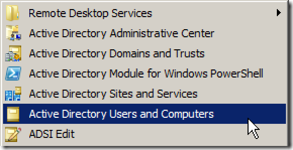 how to create remote user in server 2008