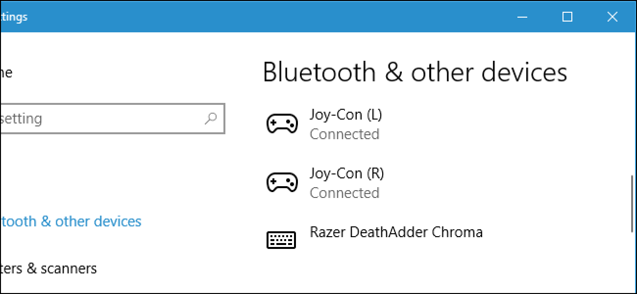How to Connect the Nintendo Switch Joy-Con or Pro Controllers to Your PC