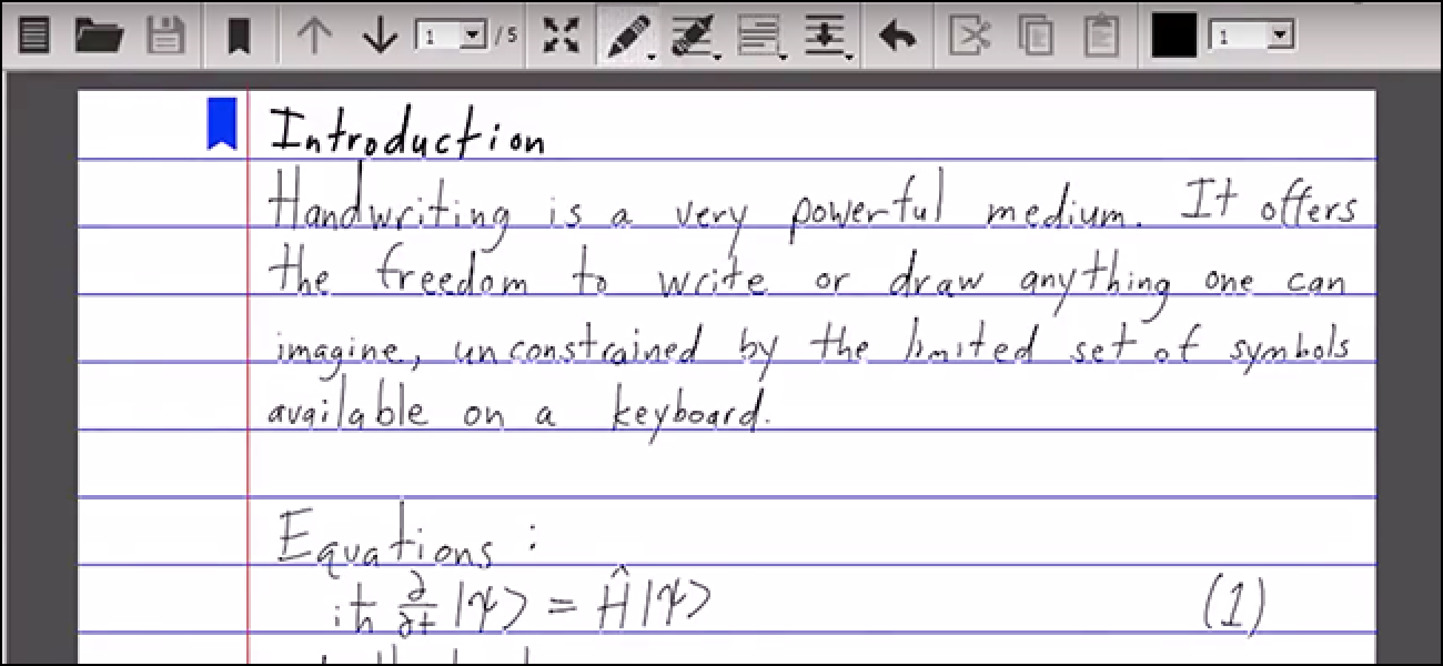 Free Download: Write is a Word Processor for Handwriting